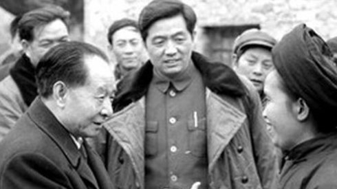 Image result for 胡耀邦 毛新宇