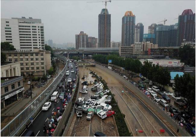 郑州大洪灾
