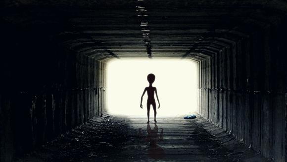 外星人UFO不明飞行物生物在已在地球?